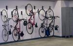 Крепёж для велосипеда на стену