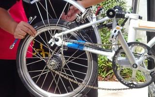 Самостоятельный демонтаж велосипедного колеса
