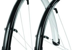 Установка крыльев на велосипед
