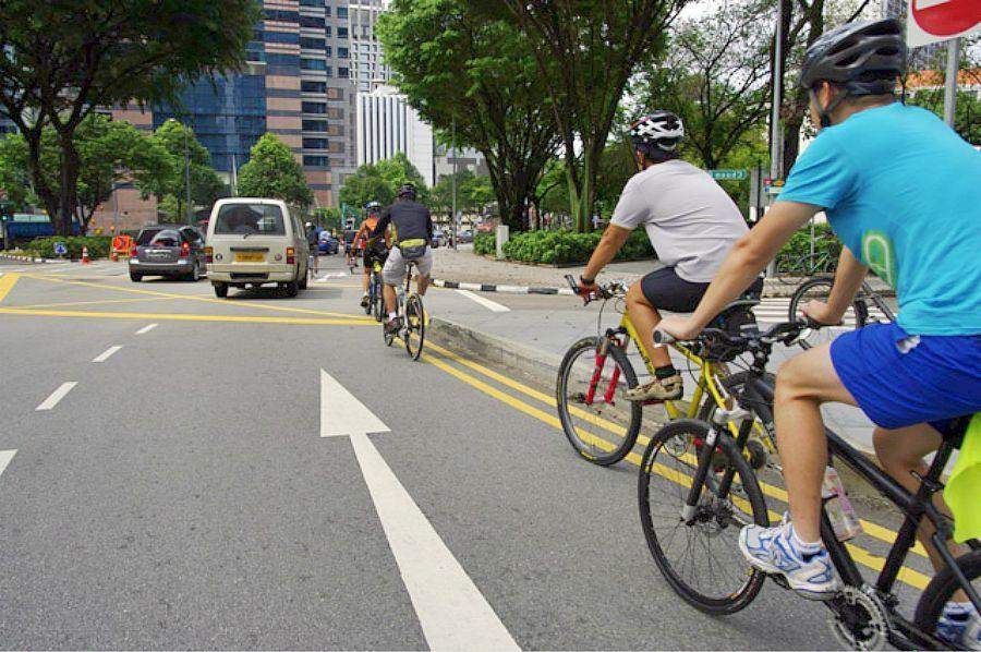 Правила движения велосипедиста