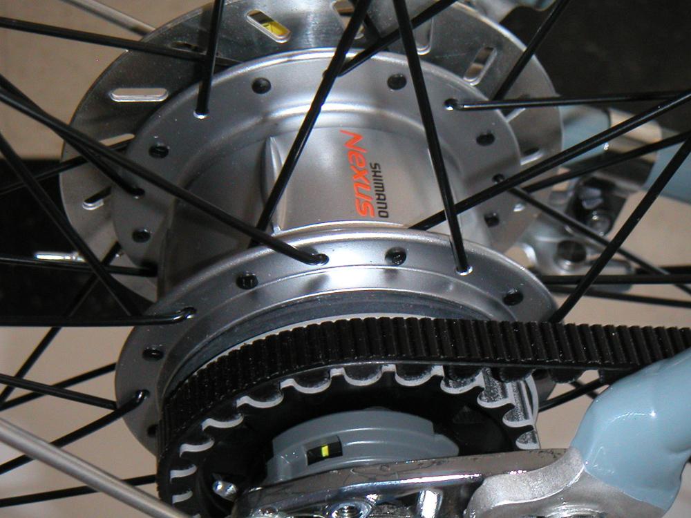 Планетарная втулка Shimano на ременной тяге