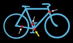 расположение серийного номера рамы велосипеда