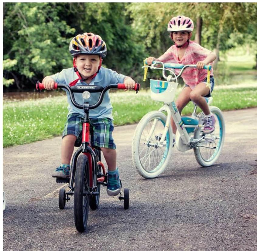 Колеса безопасности для велосипеда