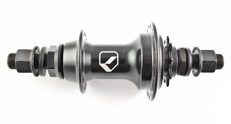 BMX Втулка задняя CODE Hrust Black RHD