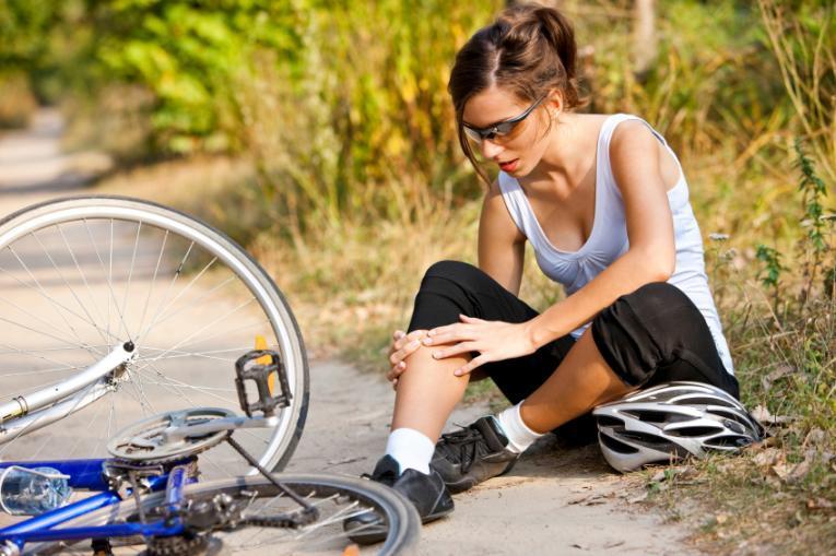 Боль коленей после велопрогулки
