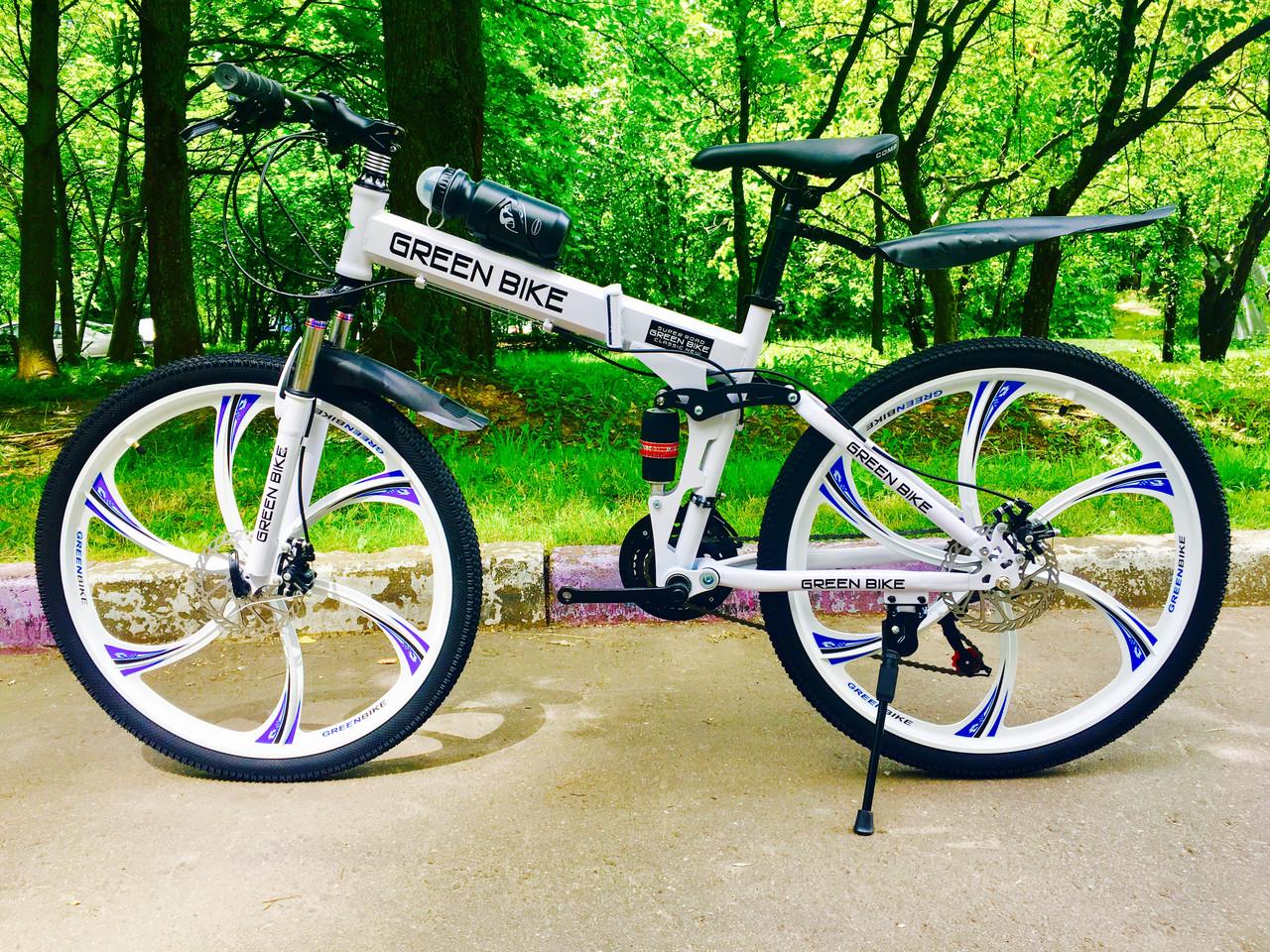 Green bike велосипед на литых дисках