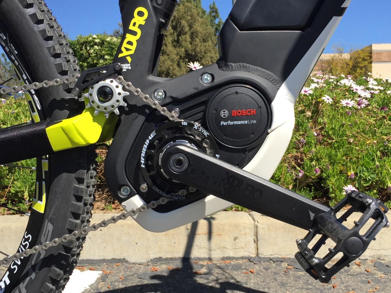 Кареточный электродвигатель для велосипеда BOSCH