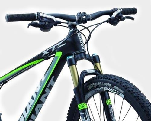 Прямой руль для горного велосипеда